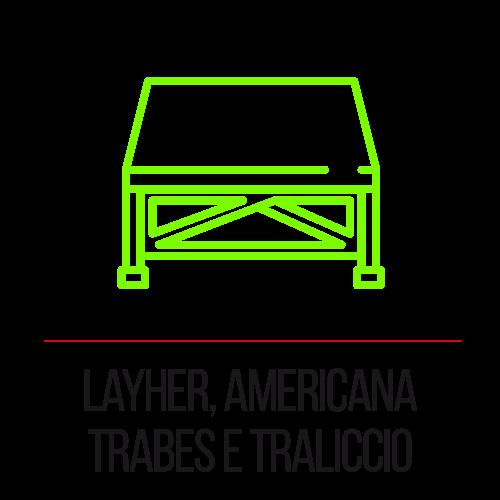 Layher, americana trabes e traliccio