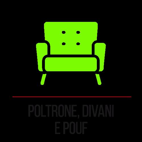 Poltrone, divani e pouf